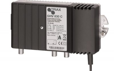 Distribucijsko pojačalo Triax GHV830C
