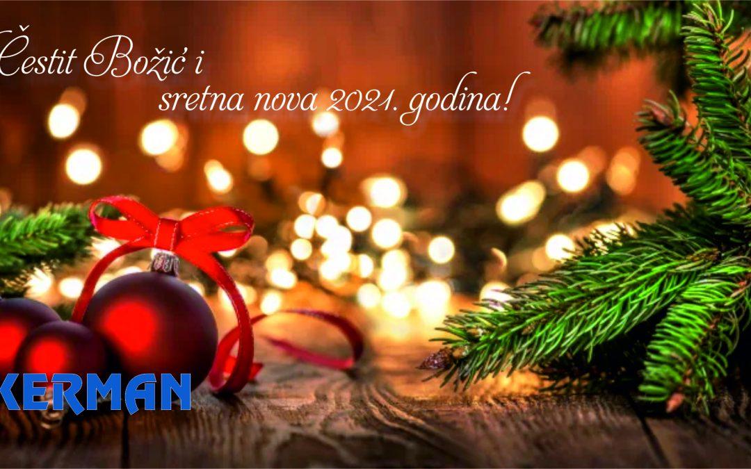 Čestit Božić i sretna nova 2021. godina!